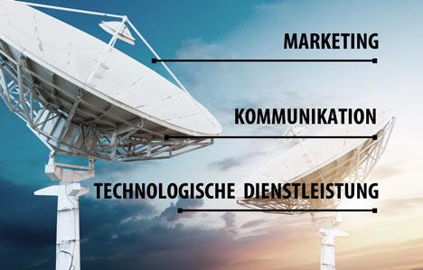 Vom Untergrund bis zur Himmel: Kommunikation einer breiten Anwendung