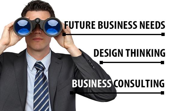Zukünftige Bedürfnisse von Unternehmen